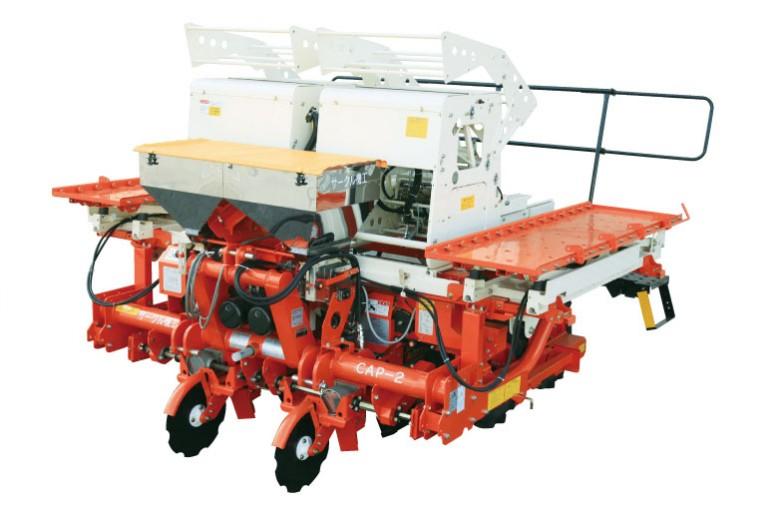 全自動ビート移植機(1/3苗箱使用機) CAP-2